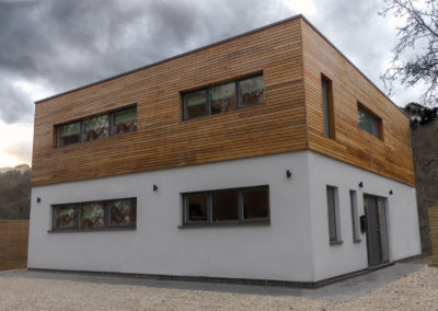 New energy efficient Self Build home in Nailsworth following the principles of Passivhaus